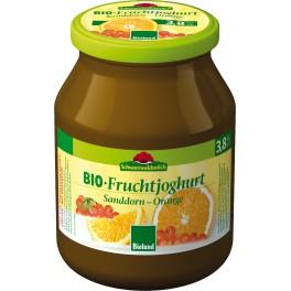 Schwarzwaldmilch iaurt catina si portocale 500 gr
